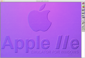 AppleWin Start Screen