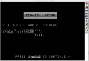 ECO-SIMULATION
