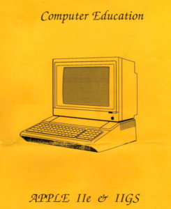 Computer Education Apple IIe & IIgs